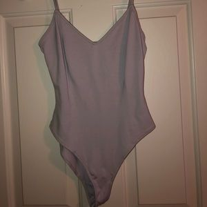 Lavender body suit forever 21